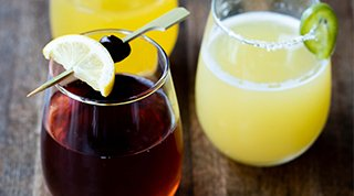 Cocktails from Bruncheonette in Spokane